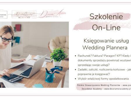 Księgowanie Usług Wedding Plannera - szkolenie-01